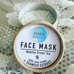 [REVIEW] Gaia Botanicals Matcha Green Tea Face Mask